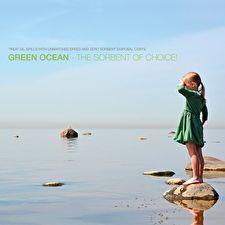 Beurswand - Green Ocean