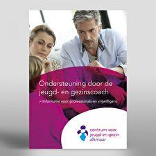 Gemeente Alkmaar - Folder CJG Professionals en Vrijwilligers