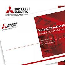 Huisstijlhandboek Mitsubishi Elevator Europe